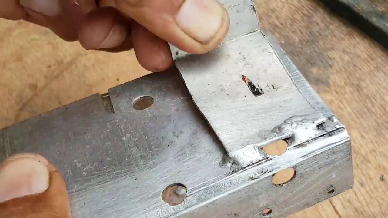 Jual Kawat Las Aluminium Flux Terbaru 2018 Borak Pasta Stay Silv White Brazing Harris Alumunium Memakai Pemantik Gas Alubraze Youtube