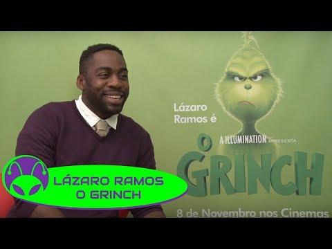 O GRINCH   Lázaro Ramos afirma que roubaria o Natal SIM! 🎄
