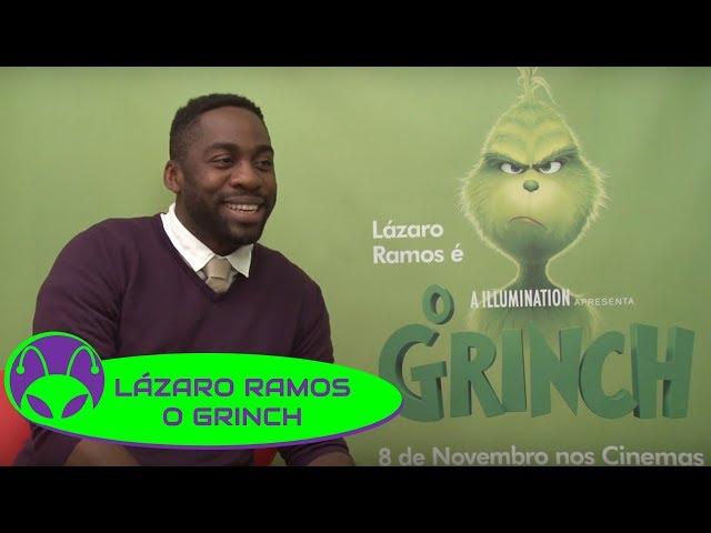 O GRINCH | Lázaro Ramos afirma que roubaria o Natal SIM! 🎄