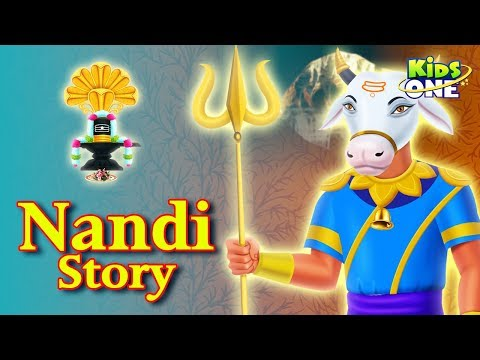 The Real Story of Nandi | Indian Mythological Stories for Kids | KidsOne