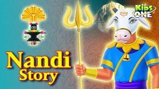 The Real Story of Nandi   Indian Mythological Stories for Kids   KidsOne