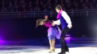 Татьяна Розанова-Александр Якушин. Kings on Ice, Riga. Номер Зомби
