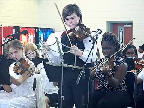 Fiddle Fiddle Fiddle performed by Beaufort Middle School students