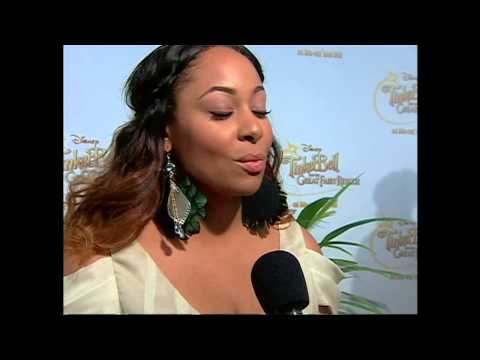 "Tinker Bell and the Great Fairy Rescue: Raven Symone ""Iridessa"" Premiere Interview"