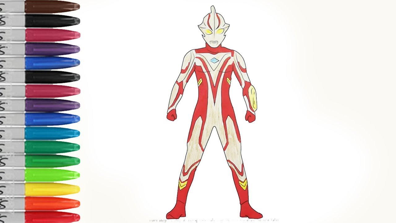 Ultraman Mebius Strange Coloring Pages Sailany Coloring Kids Youtube