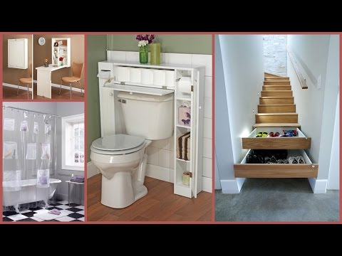 28 Clever Space Saving Ideas and Solution- Plan n Design