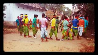 new santhali sohrai danta enej 2016