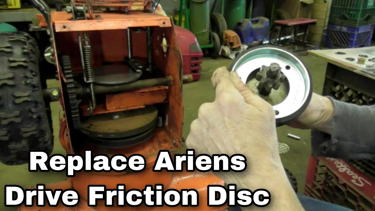 How To Replace A Drive Friction Disc On An Ariens Snowblower Youtube Com Picsxxvr 8hpbriggsandstrattoncarburetorlinkagediagram