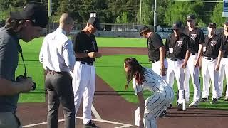 The Wedding Video: Raptors pitcher Eli Shubert weds Erin Thum