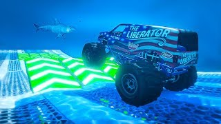 ULTIMATE UNDERWATER TRUCK RACING ! (GTA 5 Races)