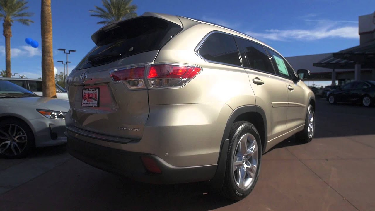 2016 Toyota Highlander Centennial Las Vegas