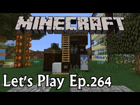 Minecraft Let's Play Ep. 264- Rabbit Farm