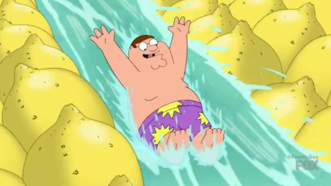 Family Guy - Peter On Acid At The Water Park