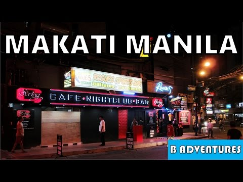 Makati Manila, Street Tour & Armscor Gun Club, Philippines S1 Ep19