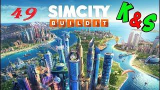 Прохождение игры SIMCITY Сим Сити Серия 49 Райский город Горнолыжный курорт в раю