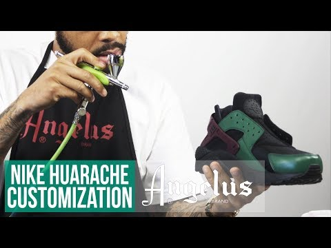 How to Get A Factory Finish | Custom Shoes | Angelus Paint