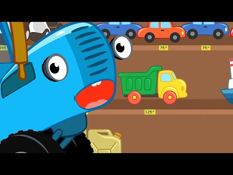 Синий трактор - ПОЁМ #ДОМАВМЕСТЕ развивающие песенки - Большой сборник для детей