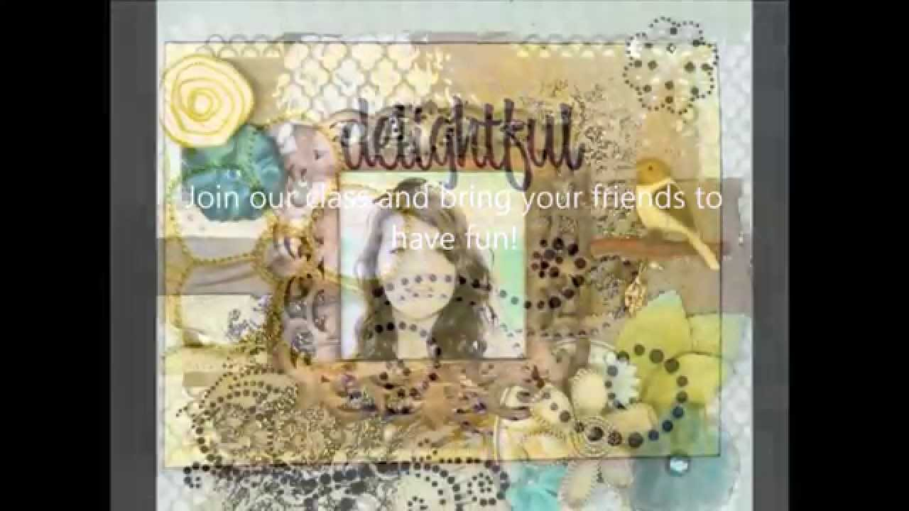 New Scrapbooking 101 Class And Mini Cards Tricks Class At Michaels