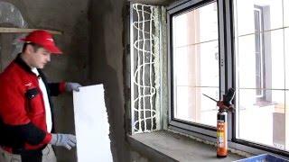 Утепление откоса пенопластом. Нестандартное решение.(утепление откосов своими руками. Все интересные видео по стройке и ремонту квартир тут, на моем канале:..., 2015-04-20T18:05:54.000Z)