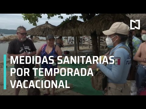 Refuerzan medidas sanitarias en Acapulco - Sábados de Foro