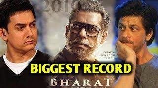 Bharat Trailer Biggest Record   Beats Shahrukh Khan & Aamir Khan   Salman Khan