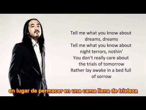 SUBTITULO INGLES ESPAÑOL Kid Cudi   Pursuit of Happiness Steve Aoki Remix LYRICS