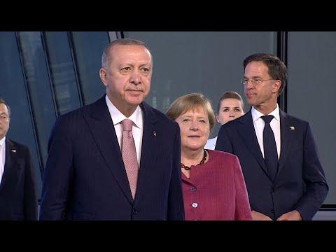 14.06.2021 - Angela Merkel, Recep Tayyip Erdoğan, Joe Biden und alle anderen - NATO-Gipfel