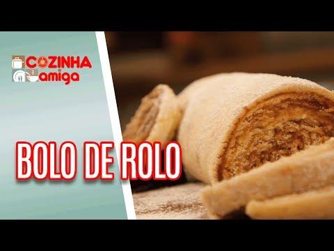 Bolo De Rolo - Patricia Gonçalves | Cozinha Amiga (23/05/18)