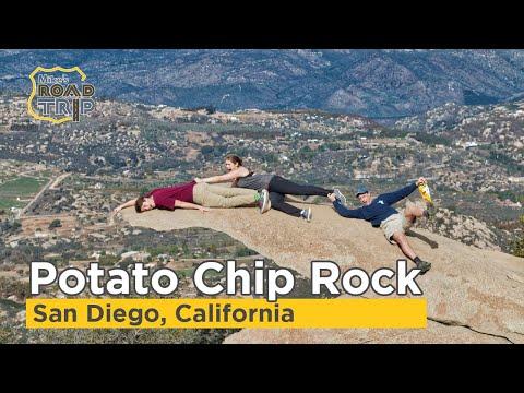 Potato Chip Rock hike up Mount Woodson