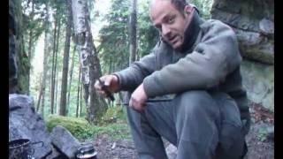 Schnitzmesser(selfmade) in Aktion