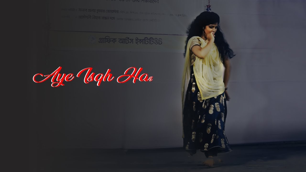Aye Isqh Hai | Bangladeshi Cover by Shorna | Graphic Arts Institute farewell | BD college dance