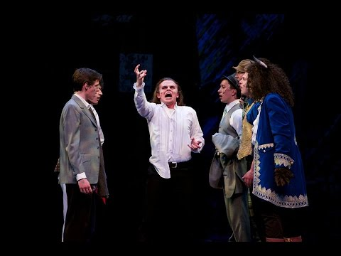 Liam Hunsaker as Jekyll and Hyde at Eccles Theater Salt Lake City