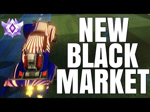 INSANE NEW BLACK MARKET DECAL | JUICY CEILING SHOT FAKE | GRAND CHAMPION 1V1