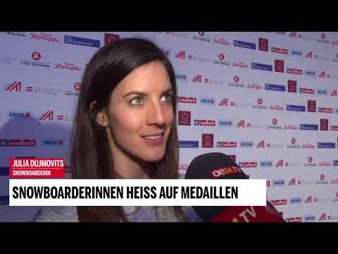 Snowboarderinnen heiß auf Medaillen: Julia Dujmovits im Interview