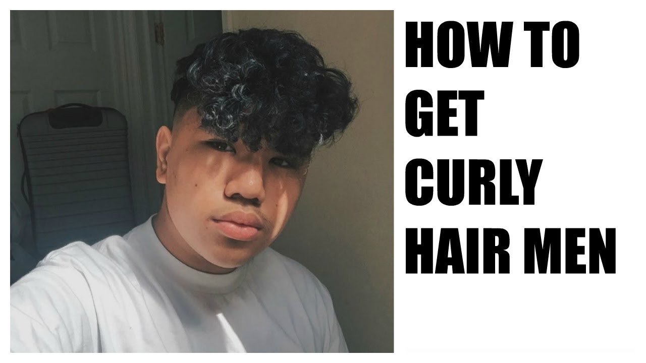how to get curly hair for men  perm tutorial branch1302