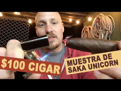 $100 CIGAR! | Muestra De Saka Unicorn Cigar Review