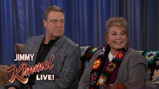 Roseanne Barr & John Goodman on