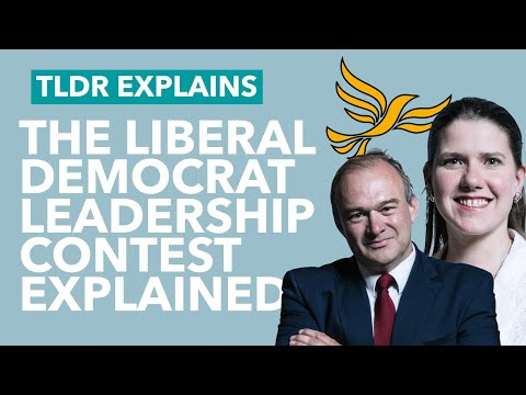 The Lib Dem Leadership Election Explained – TLDR News