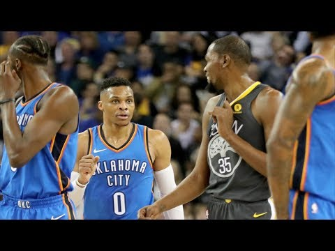 Russell Westbrook vs Kevin Durant! George Dunks on Zaza! Green Ejected! 2017-18 Season
