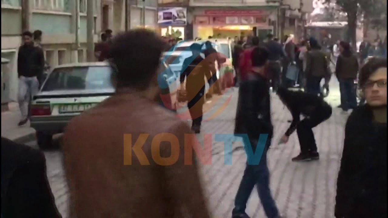 Konya'da Suriyeli iki grubun kavgası kamerada