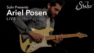 "Ariel Posen ""Things That I've Said"" at the Suhr Factory"