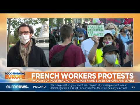 french-workers-protests,-two-days-of-industrial-action-across-france-over-hob-cuts-and-wages