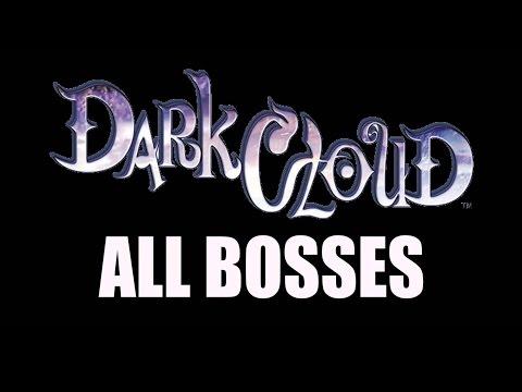 Dark Cloud - All Boss Fights (All Bosses)