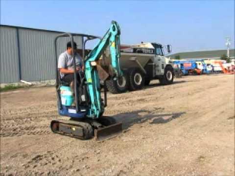 For Sale 2006 IHI 9NX2 Mini Excavator Track Backhoe Dozer Blade bidadoo com