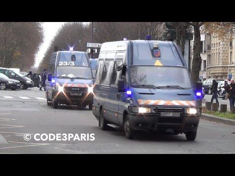 Convoi de Gendarmes // Convoy of French Gendarmes