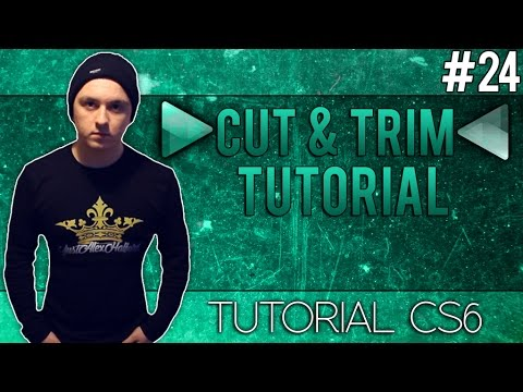 How To Cut And Trim In Adobe Audition CS6 - Tutorial #24