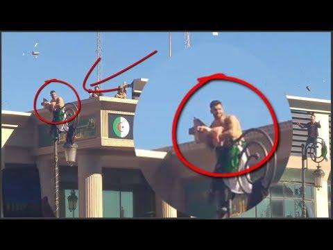#الجزائر شاهد ماذا فعل هذا الجزائري في مظاهرات لن تصدق شعب ولا في الأحلام