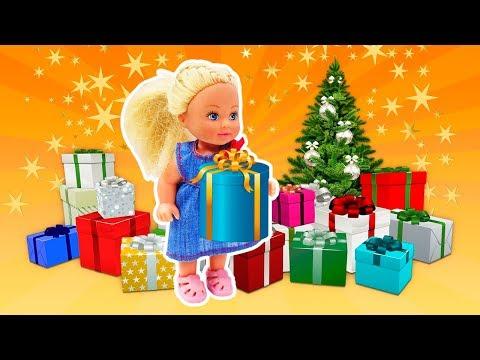 Штеффи перепутала Подарки на Новый год - Пишем письмо Деду Морозу. Видео для девочек