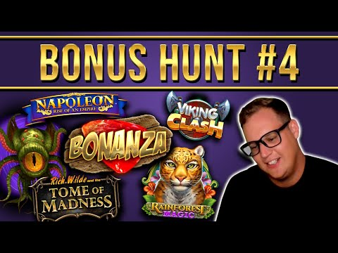 Bonus Hunt Highlights #4 - €10.000 For 9 Features