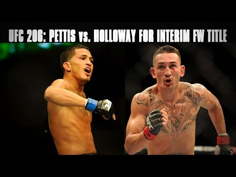 Anthony Pettis vs. Max Holloway set for Interim Featherweight Title at UFC 206